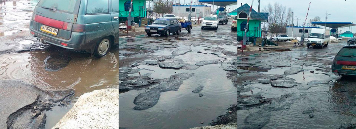 Repair of 'repaired' roads or new outrage by Mamai