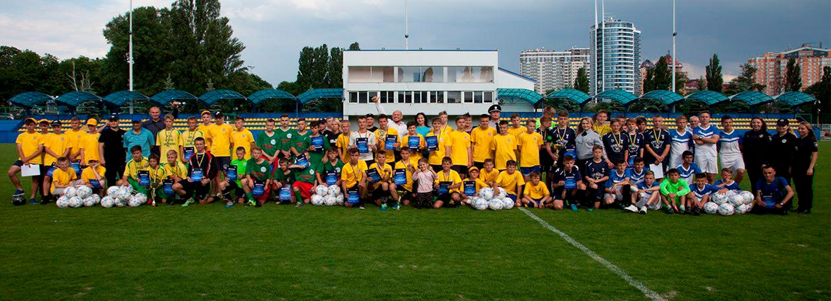 The final of the first stage of the Street Football Championship took place.