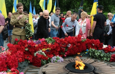 SPU have honored the memory of the soldiers who died in the World War II 17